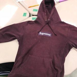 2010 supreme box logo hoodie size L